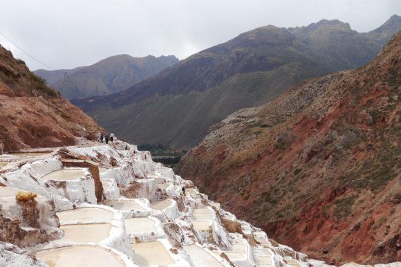 Sacred Valley Salineras salt Peru