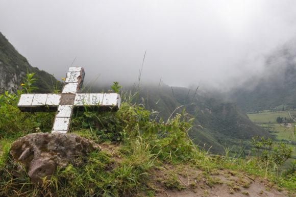 Ecuador Pululahua Crater