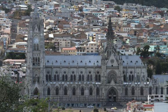 Basilica Quito Ecuador