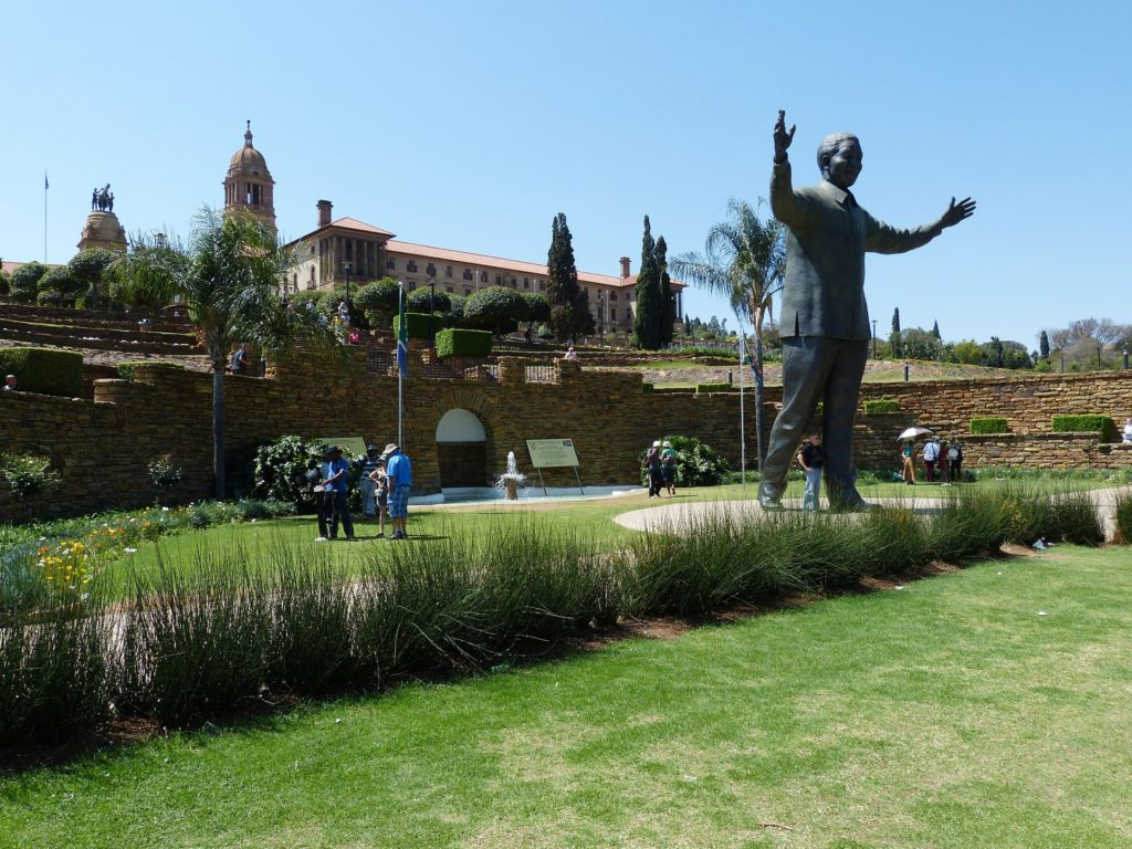 Statue in South Africa