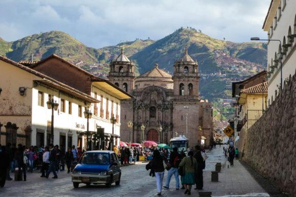 Cusco streets Peru