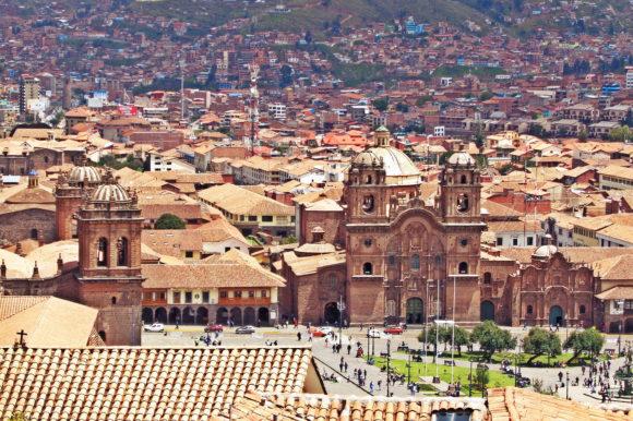 Peru Cusco colonial architecture