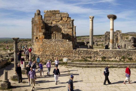 Morocco ruins Chellah