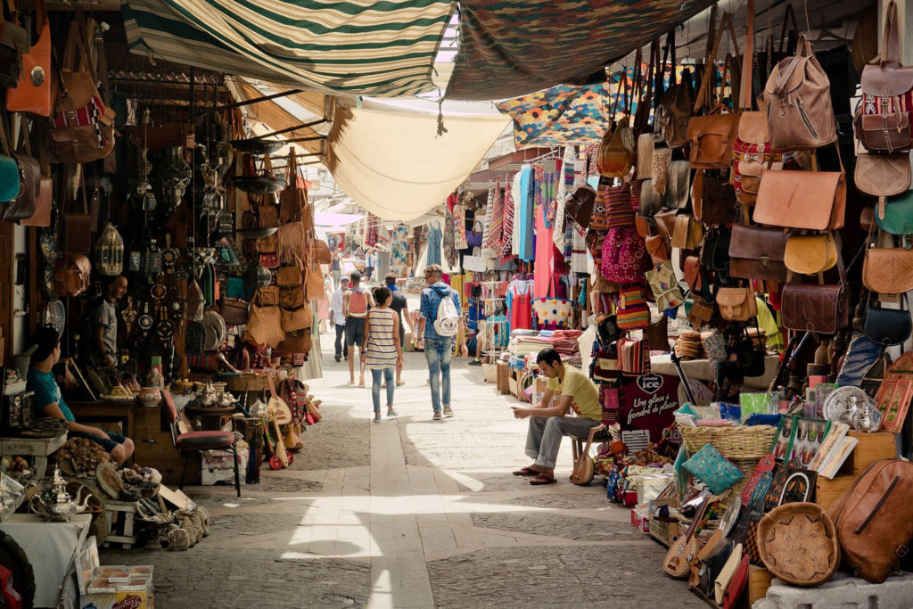 Souk market Morocco