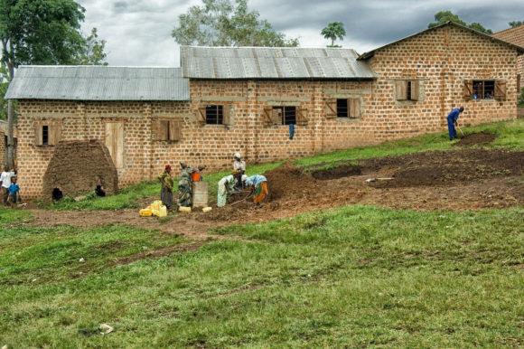 Uganda building