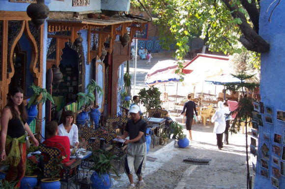 Morocco Chefchaouen downtown