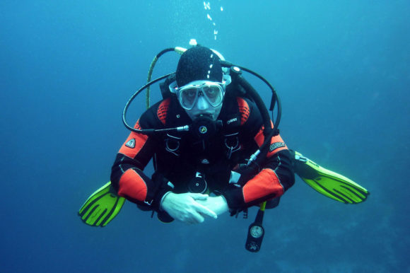 Diver in South Africa