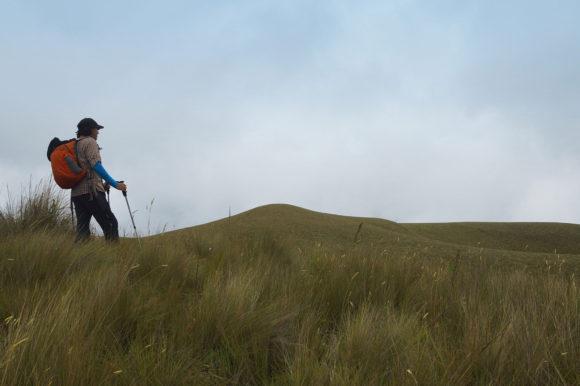 Ecuador hiker