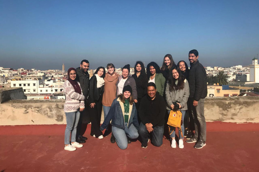 French language tour group
