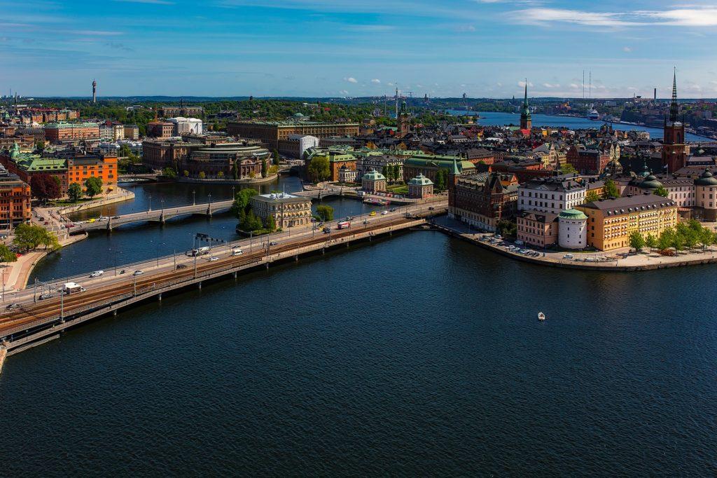 View of Stockholm, Sweden