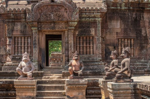 Temple - Siem Rap, Cambodia