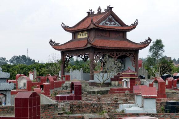 Cemetery Tombstone, Vietnam