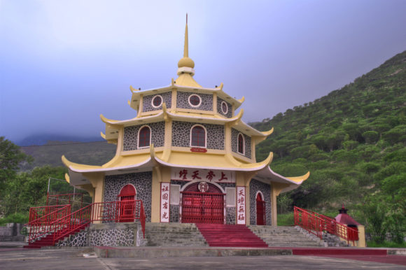 Pagoda Vietnam Mountains