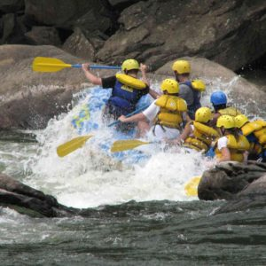 Zambezi White Water Rafting Tour