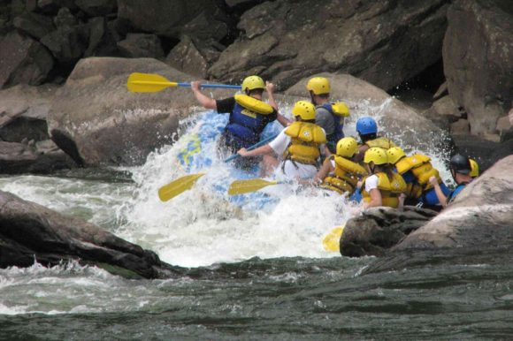 Rafting Teamwork