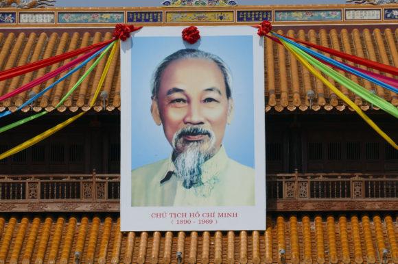 Ho Chi Minh portrait, Vietnam